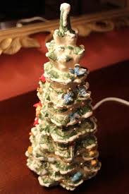 53 best lighted ceramic trees houses and accessories images on