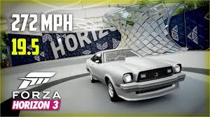 fastest mustang cobra forza horizon 3 king cobra 2nd fastest 272mph 19 5