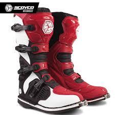 dirt bike motorcycle boots scoyco mbm001c racing atv motorcycle long shoes off road motocross