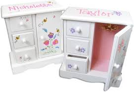 personalized girl jewelry box sandi pointe library of collections