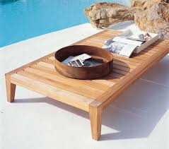 Outdoor Furniture Wood Favorite Furniture Sustainable Teak From An Italian Designer