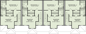 family home floor plans 4 unit multi family home plan 60559nd architectural designs