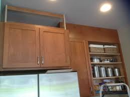 adding storage above kitchen cabinets filling in that space above the kitchen cabinets