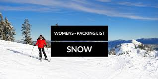 New Hampshire Travel Accessories images Snow vacation packing list women travelbreak jpg