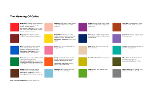 what do the colors mean glamorous 25 meaning of color design inspiration of best 25