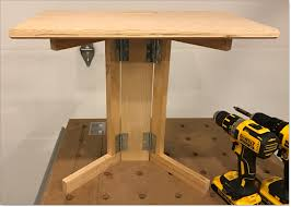 fold up table hinges portable diy surface pro table top stand lectern computer