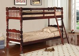 Stackable Bunk Beds 45214 Twin Twin Spindle Post Stackable Bunk Bella Esprit