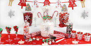 christmas candy buffet woodies party