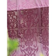 Girls Bedding And Curtains by Plum Pattered Princess Sheer Curtains For Girls Bedroom