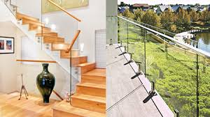 glass barade handrail a balcony barade gl screens for decking