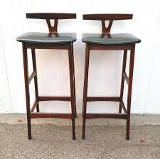 Mid Century Corner Cabinet Bar Stools Unusual Mid Century Modern Upholstered Bar Stools