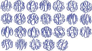 3 initial monogram fonts vine monogram font like success