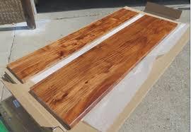 custom run acacia stair tread u0026 riser board pu finished