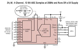 ltc1598 8 channel micropower sampling 12 bit serial i o a d