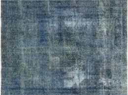 blue overdyed rug rugs decoration