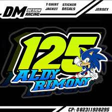 gambar desain nomer racing desain nomor start balap home facebook