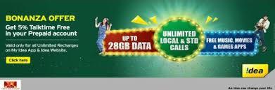 idea plans idea unlimited internet plans calling offers detail april 2018
