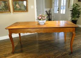 farm dining room table antique french country farm dining table with scalloped sides