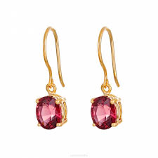 garnet earrings rhodolite garnet earrings