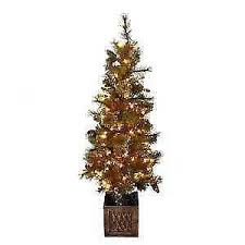 outdoor christmas tree ebay