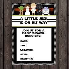 wars baby shower ideas wars baby shower invites lilbibby