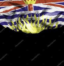 Flag British Columbia British Columbia Waving Flag U2014 Stock Photo Filipefrazao 66140591