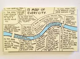 how to draw a map how to draw a map of every city best cityreads of the week