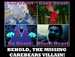 Bears Meme - the missing care bears villain by popculture patron on deviantart