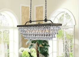 Kitchen Island Chandelier Lighting Leetsdale 4 Light Crystal Kitchen Island Pendant U0026 Reviews Joss