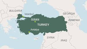 ankara on world map turkey