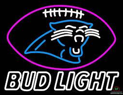 bud light for sale bud light carolina panthers neon sign nfl teams neon light for sale