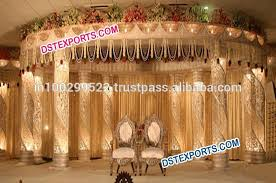 Wedding Reception Stage Decoration Images Indian Wedding Stage Decoration With Flowers Decorative Flowers