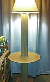 End Table Lamp Combo Island Collections Kauai Rattan U0026 Ceramic Lamps Hawaii Island