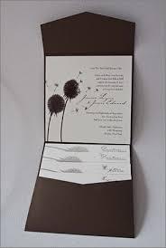 Pocket Wedding Invites Pocket Fold Invitation Fall Wedding Design