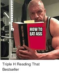 Triple H Memes - tools of titans x1111 fer triple h reading that bestseller meme