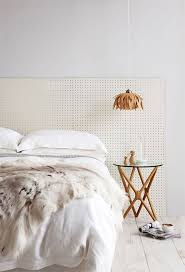 No Headboard Ideas by Best 20 Pegboard Headboard Ideas On Pinterest King Size