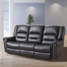 Recliner 3 Seater Sofa 3 Seater Sofa Loveseat Chaise Couch Recliner Leather Living Room