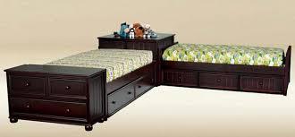 stylish corner twin beds ana white storage beds twin with corner