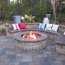 Firepits Gas Custom Gas Burning Firepit With Glass Coastroad Patio