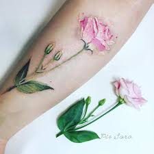27 breathtaking watercolor flower tattoos page 2 of 3 stayglam