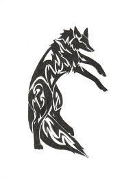 posing fox tribal by zaiynin on deviantart