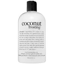 coconut frosting shampoo shower gel u0026 bubble bath philosophy