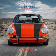 porsche matte red porsche 911r stripes 1964 u2013 1998 car bone pl