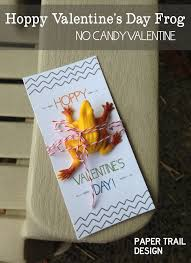 candy s day card diy frog printable card paper trail design