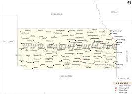 usa map kansas state map of kansas state map of usa
