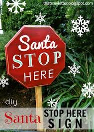 santa land here lighted sign 27 cheerful diy christmas decoration ideas you should look porch