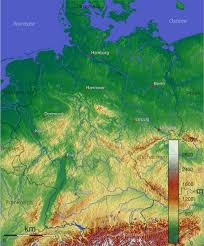 Physical Map Of Europe by Maps Of Germany Map Library Maps Of The World