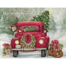 santa u0027s truck boxed christmas cards piper classics