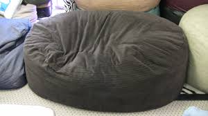 Round Chair Canada Bedroom Black Wool Linen Bean Bag Chair Which Equipped With Back