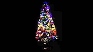 quantam fibre optic tree with multi coloured lights